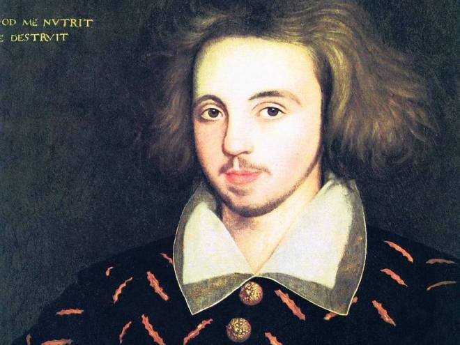Picture of christopher Marlowe