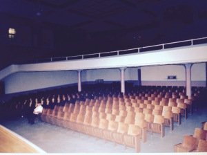 Auditorium of the former Marshall High School, Marshall, MO