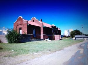 Hometown railroad depot