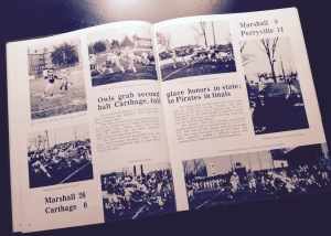 1960 Marshall High School Noctua Yearbook.  Marshall, Missouri