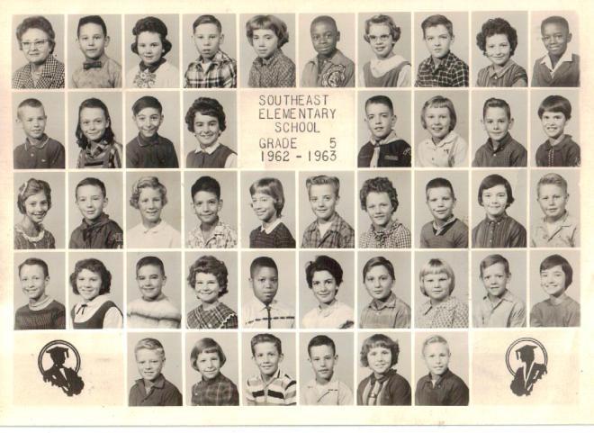 Southeast Elementary School, Grade 5, 1962-1963, Marshall Missouri