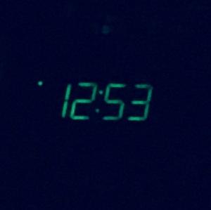 Waking at midnight