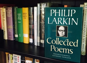 "Phili; Larkin wrote a beautiful spring poem, ""The Trees."""