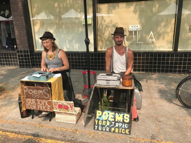Ballard Market Poetrymongers